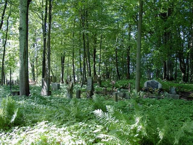 Dawny cmentarz w Kramarzynach