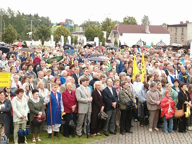 Zjazd Kaszubów w Kościerzynie. Msza św. (3455)