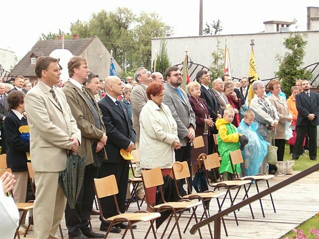 Zjazd Kaszubów w Kościerzynie. Msza św. (3457)