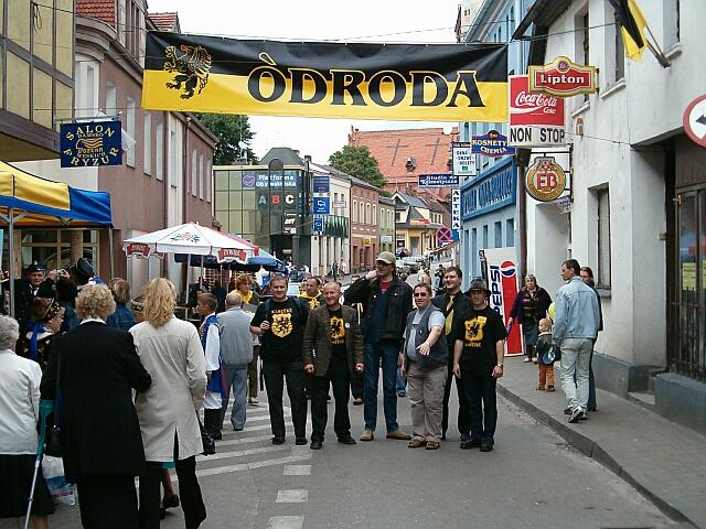 """Zjazd Kaszubów w Kościerzynie. Pod sztandarem """"Odrody"""" (3480)"""