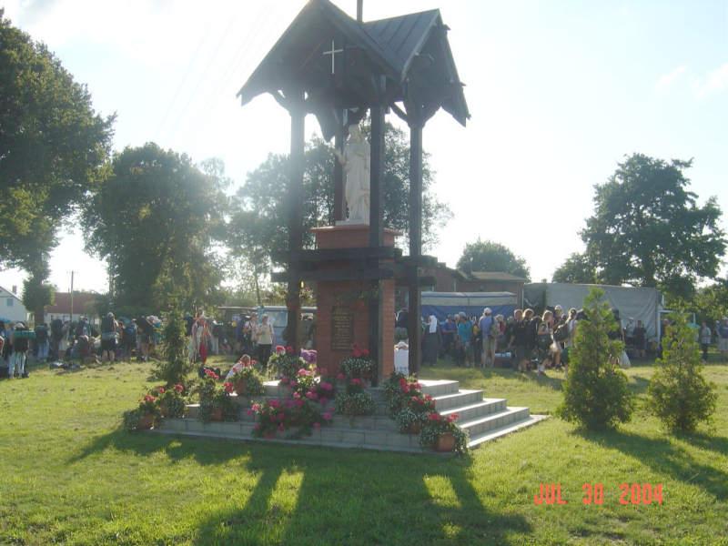 Kościerska pielgrzymka do Częstochowy. Przystanek w Lubni