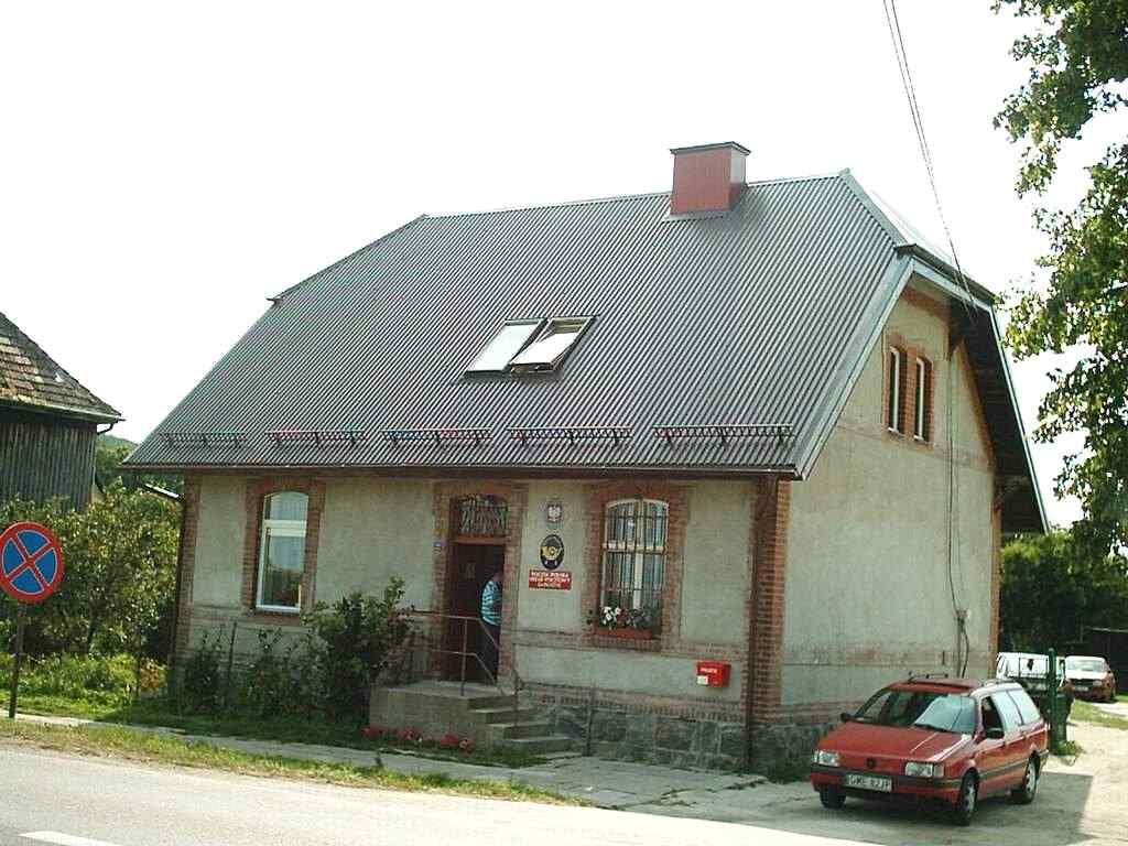 Dawny niemiecki  budynek celny w Kniewie