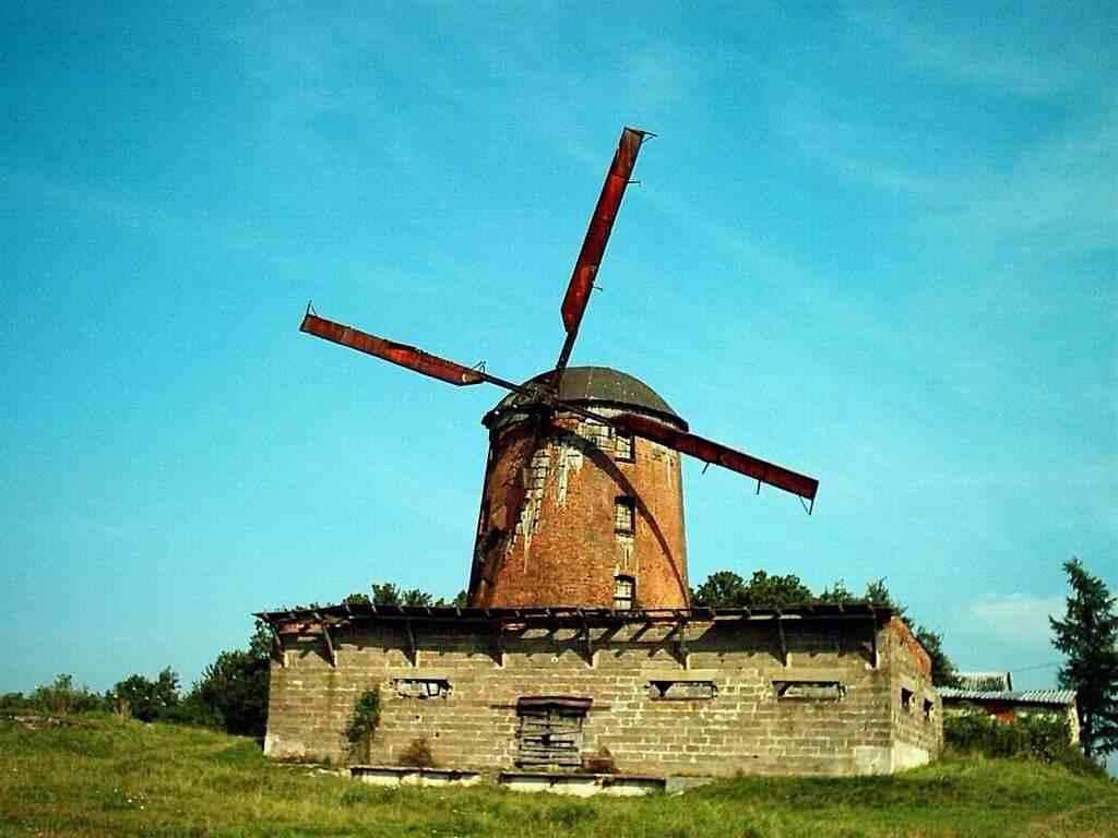 Zdrzewno - jedyny zachowny na ziemi lęborskiej wiatrak