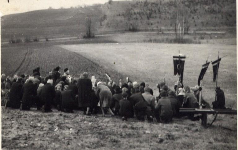 Pogrzeb na wygodzkim cmentarzu
