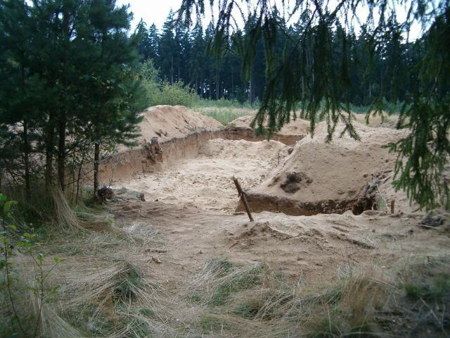 Badania archeologiczne w sezonie 2004 (4400)