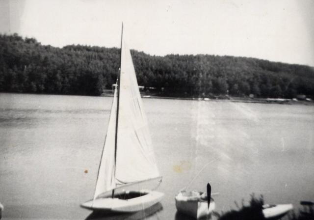Jezioro Raduńskie lata 70