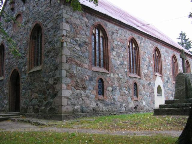 Zelkowo - kościół