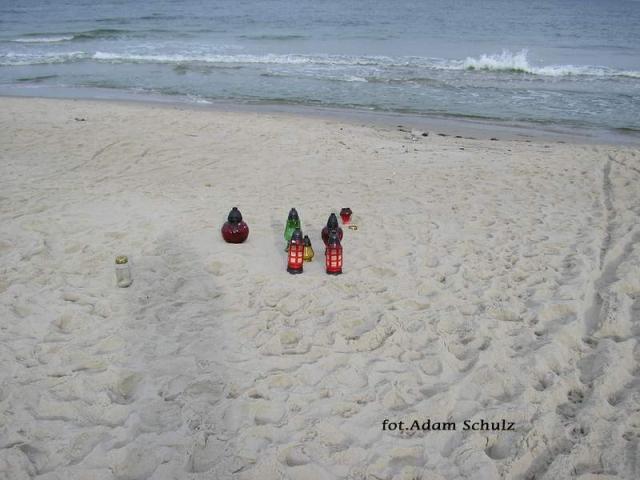 Dzień Zaduszny nad morzem