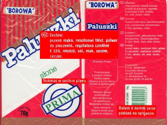 Paluszki Borowa