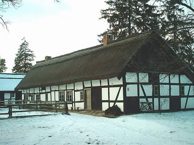 Skansen wsi słowińskiej