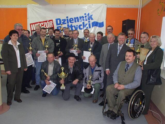 Nowa Karczma - laureaci Turnieju Gry w Baśkę