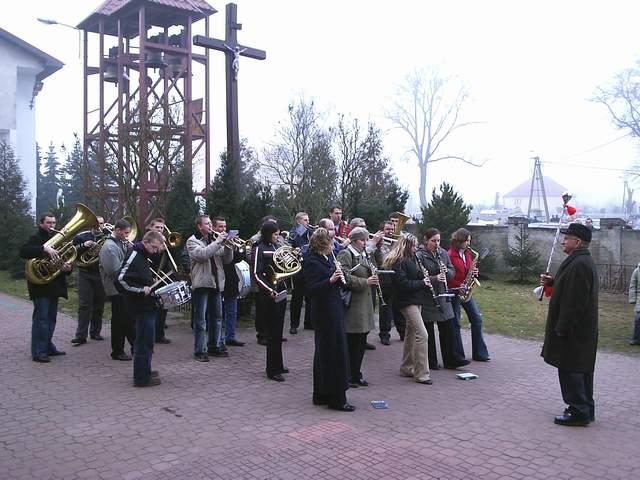 Orkiestra parafialna z Bolszewa