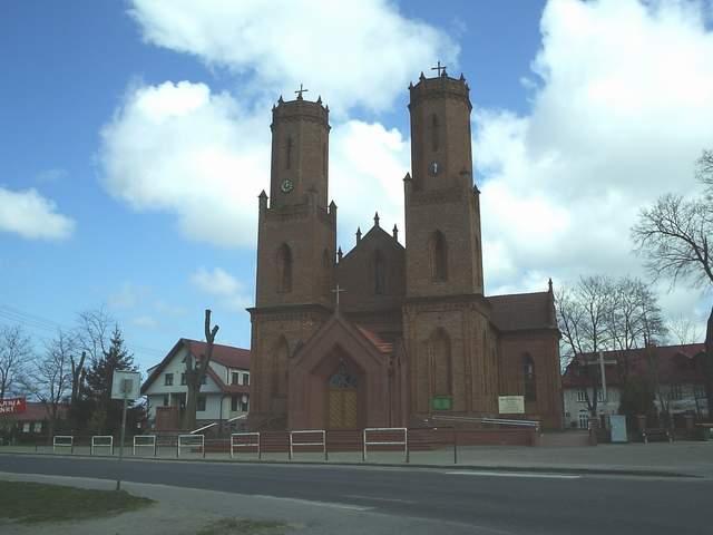Kościół pw św. Katarzyny Aleksandryjskiej w Krokowej