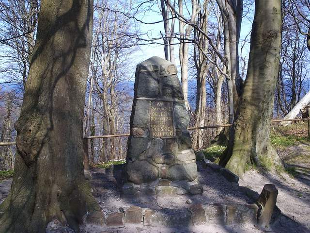 Rozewie - pomnik