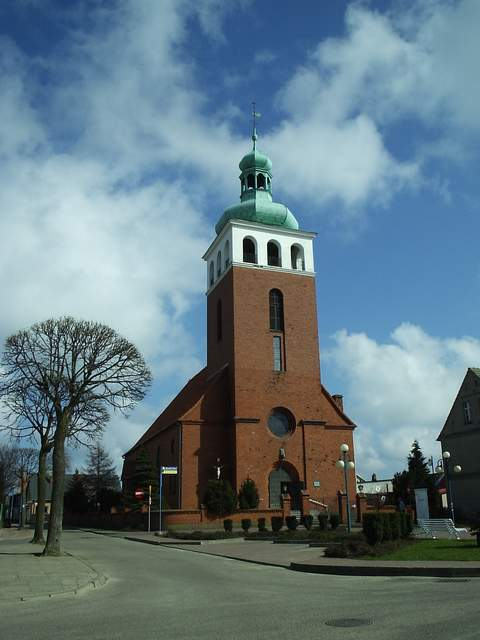 Jastarnia - kościół