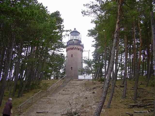 Czołpino - latarnia