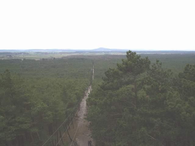 Czołpino - widok z latarni