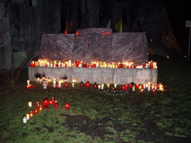 Pożegnanie Ojca Św. na Westerplatte