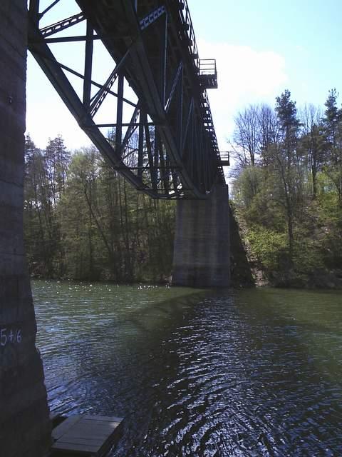Glincz/Rutki - wiadukt nad Radunią