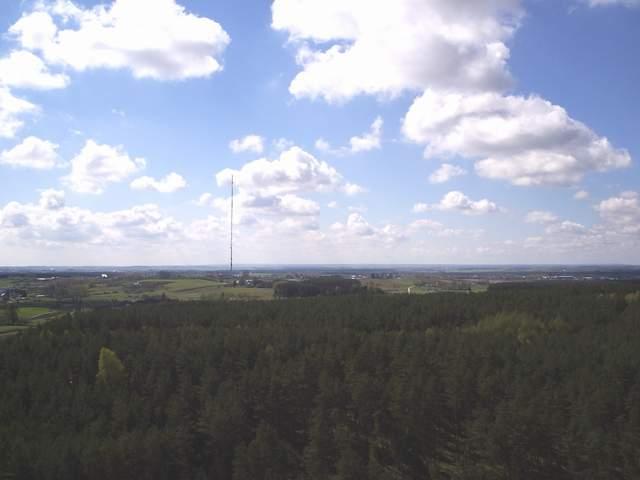 Gdynia Dąbrowa - widok z wieży