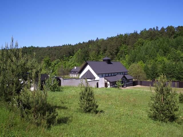 Monaster w Grabowcu - widok ogólny