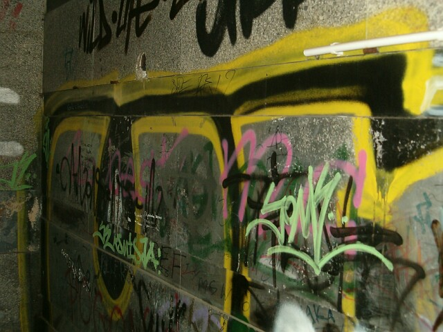 Lębork. Graffiti w barwach kaszubskich