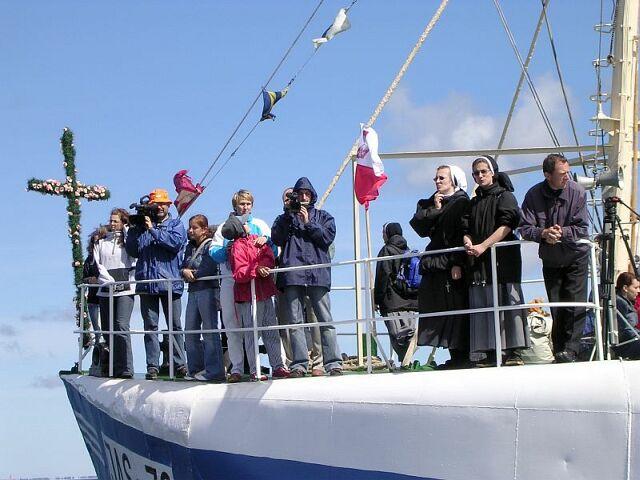 Morska pielgrzymka do Pucka 2005 4