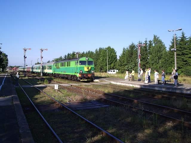 Pociąg do Łeby 1
