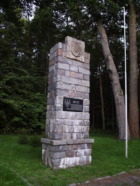 Świecino - pomnik