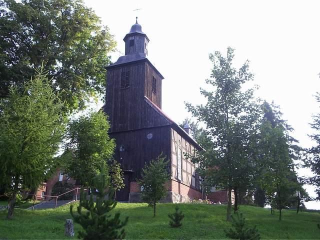 Mechowo - kościół 1