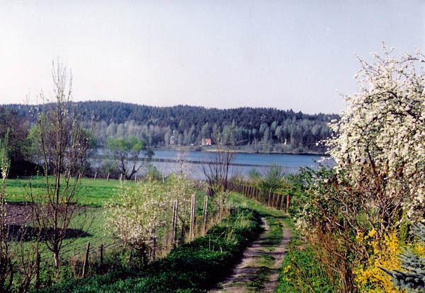 Wiele- Dryftą do jeziora