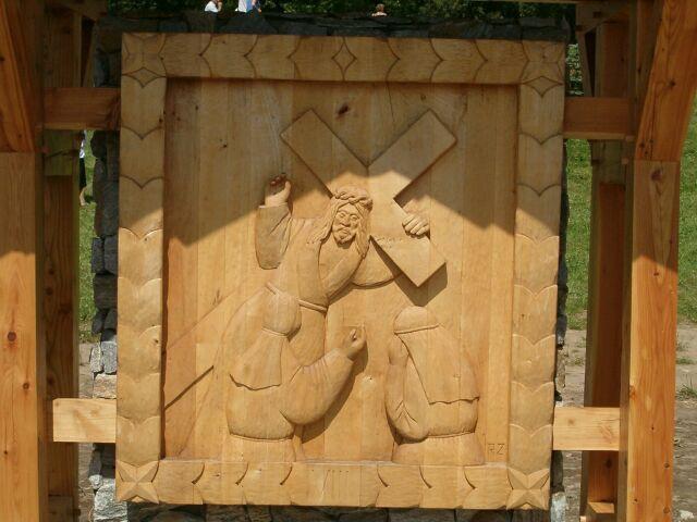 Sianowo - droga krzyżowa 8