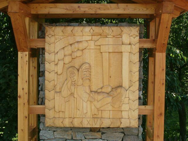 Sianowo - droga krzyżowa 14