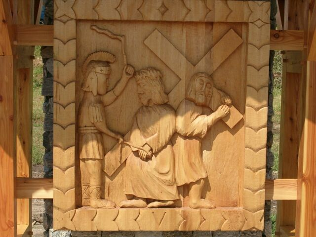 Sianowo - droga krzyżowa 5