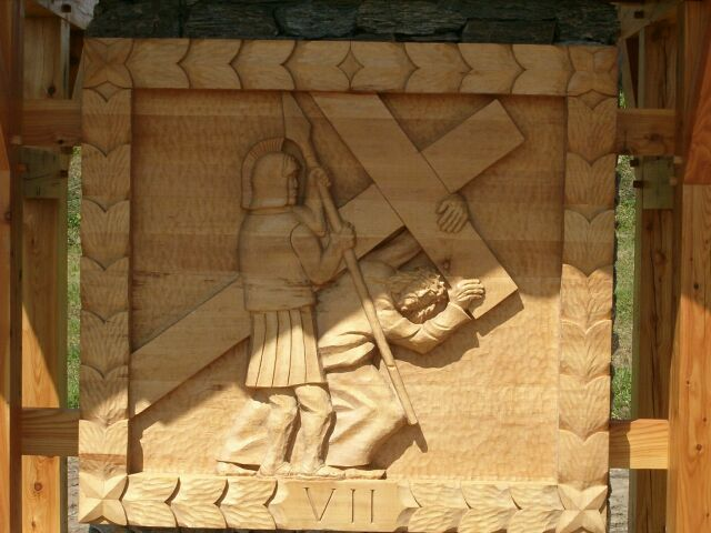 Sianowo - droga krzyżowa 7