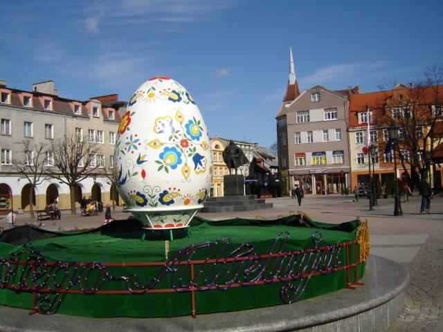 Jajo Wielkanocne na placu Jakuba Wejhera