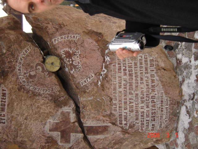 Pomnik Gryfa Pomorskiego w Szymbarku