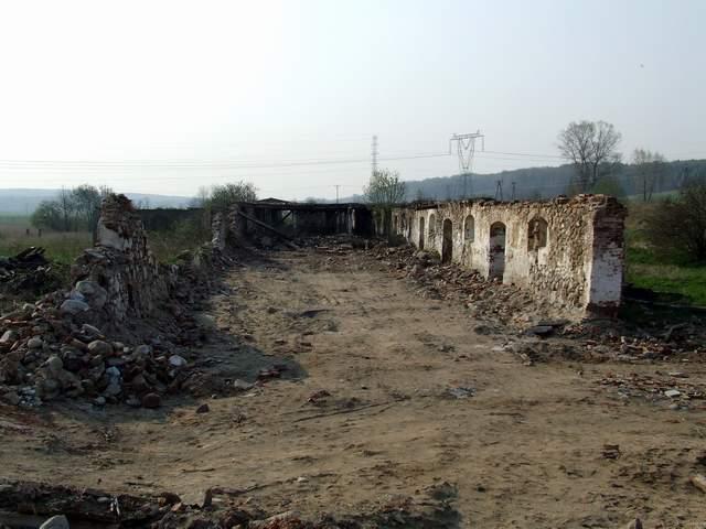 Odargowo - ruina chlewa