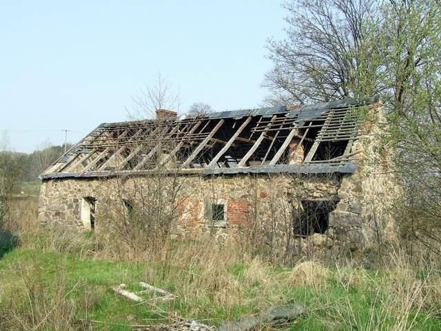 Odargowo - dawna stodoła