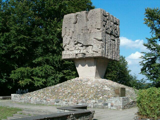 Złota Góra - pomnik poległym za polskooeć Pomorza