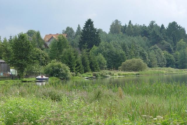 Jezioro w Studzienicach