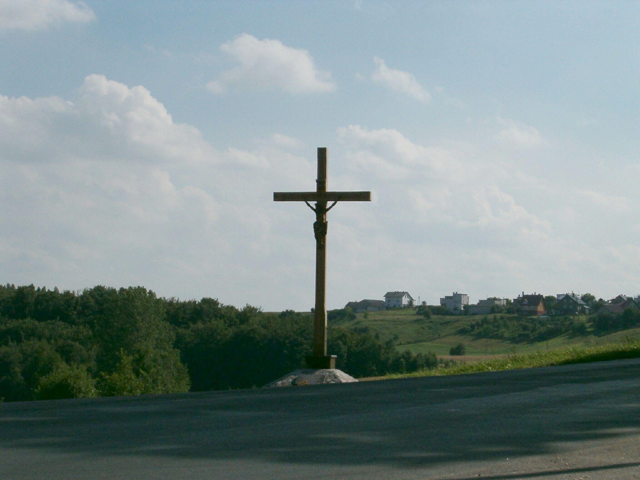 Złota góra - krzyż