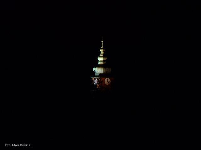 Wieża kościoła w Wygodzie