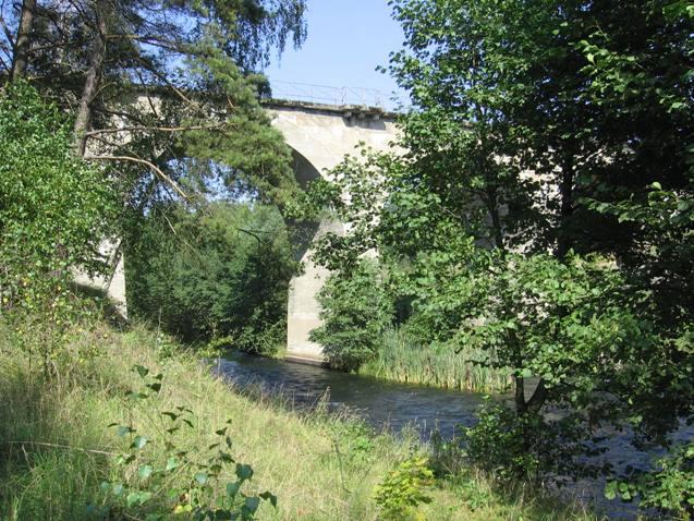 Brda w okolicach m. Rytel -most kolejowy