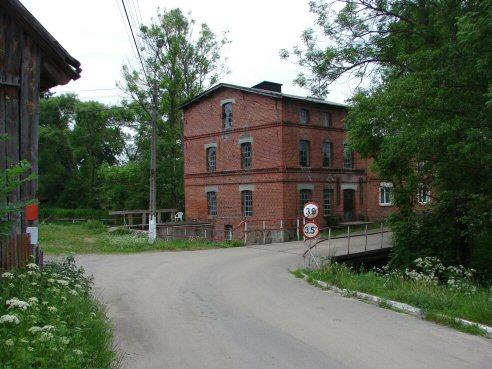 Młyn w miejscowości Korne