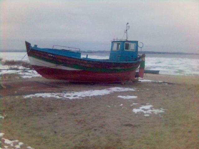 kuter rybacki w Rewie