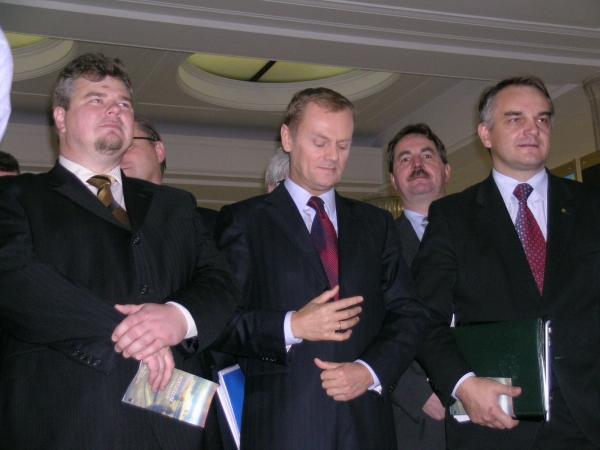 Sejm. Otwarcie wystawy o Kaszubach 4