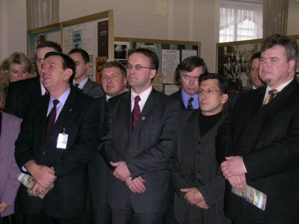 Sejm. Otwarcie wystawy o Kaszubach 5