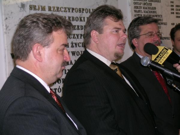 Sejm. Otwarcie wystawy o Kaszubach 7