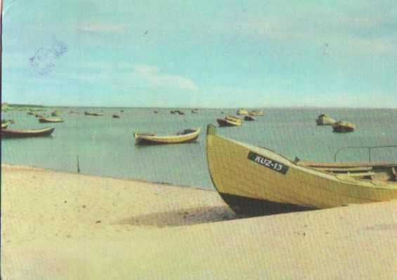 Kuźnica - łodzie rybackie